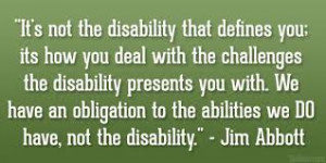 disability disabled people with disabilities quote disability quotes ...