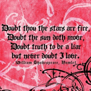 doubt, hamelt, hamlet, life notes, love, quote, shakespeare, text ...