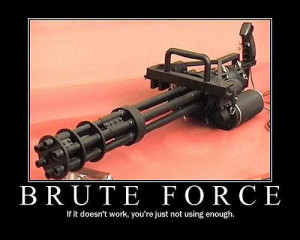 How big this machine gun is? I wonder if someone could use it though ...