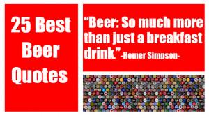 25 Best Beer Quotes