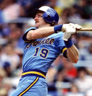 Robin Yount Milwaukee Brewers