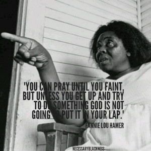 REMEMBERING FANNIE LOU HAMER