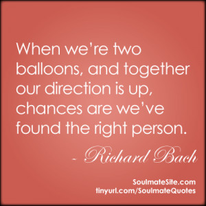 Richard Bach on finding the right person