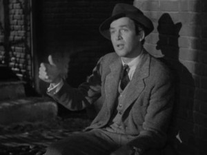 Jimmy Stewart as Elwood P Dowd in the incredibly fabulous film