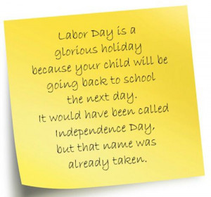 Humorous Labor Day Poems: Funny Poem For Kids About Labor Day Is A ...