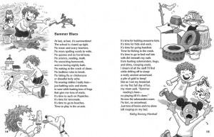 Funny Summer Poems For Kids What i did on my summer