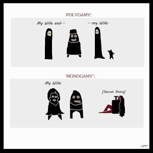 Polygamy vs Monogamy by inesssa