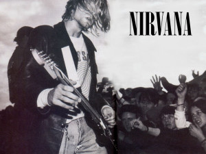 Kurt Cobain Playing Guitar Wallpaper Kurt cobain sm.