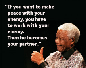 As he left this world one quote will always stay imbedded in people ...