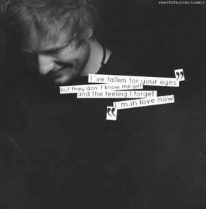 My place. - ed sheeran lyrics | Tumblr on We Heart It -... | We ...