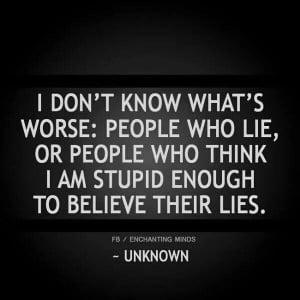 hate lies