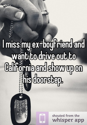Related Pictures miss my ex boyfriend quotes i miss my ex husband