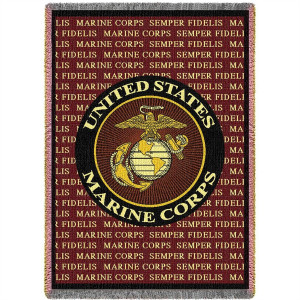 Marine Corps Semper Fidelis Blanket