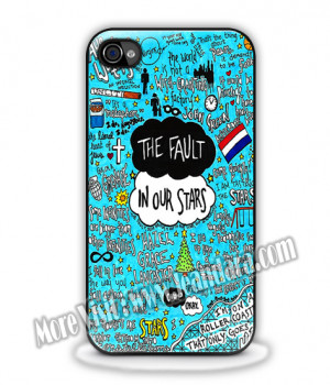 The Fault In Our Stars Collage Quotes made for iPhone 6 6plus iPhone