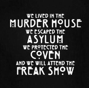 ... American Horror Asylum american horror coven american horror murder