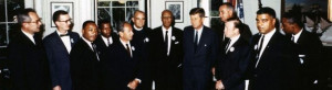 President Kennedy with leaders of the March on Washington, 28 August ...