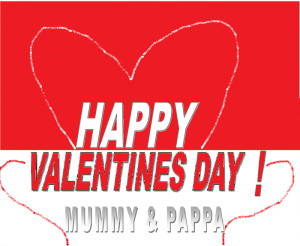 Valentines day special Cards for your parents 1
