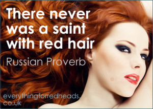 Redhead Quotes in pictures