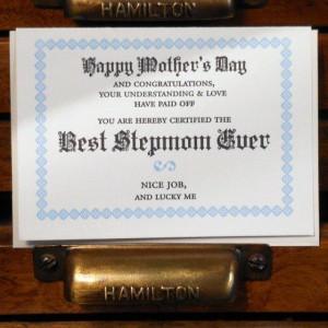 BestStepmomEver 560x560 Stepmom Quotes ~ Birth & Never Easy