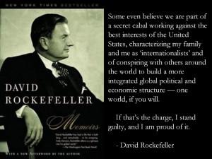 Rockefeller and Rothschild banking dynasties form partnership