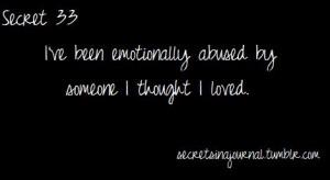 Mental Emotional Psychological Abuse
