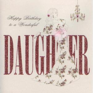 Daughter Birthday Card by Five Dollar Shake