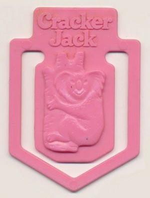 Vintage Cracker Jack bookmark