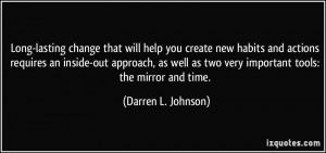 More Darren L. Johnson Quotes