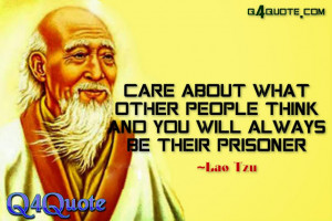 ... quote is posted under : Inspirational Quote, Thought , Lao Tzu Quote