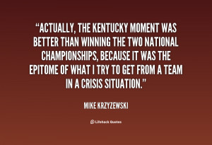 Kentucky Quotes and Sayings