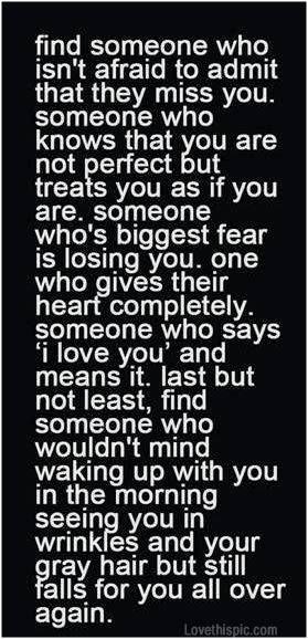 No fear no regrets. Just love!