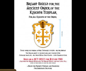 Purveyors of the Finest in Chivalric Regalia