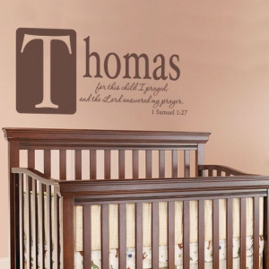Boys Room Wall Quote Personalized With Name For by FleurishWalls, $32 ...