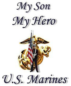 Proud of Grandson Quotes | my son my hero metalic u s marine corps ...