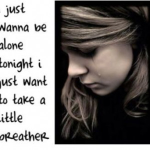 am alone without you quotes pictures 1