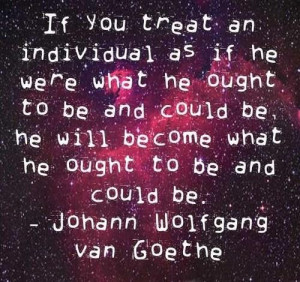 Goethe quotes and sayings famous meaningful individual people
