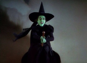 The Witch from the Wizard of Oz