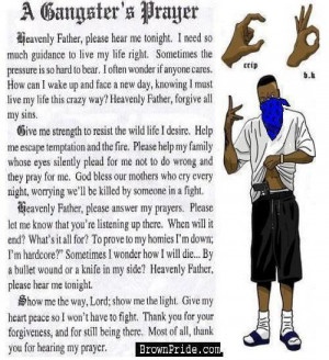 GANGSTER'S PRAYER Image