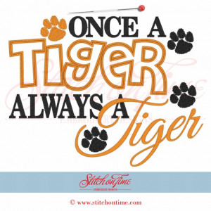 Tiger Football Sayings 5392 sayings : once a tiger