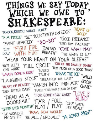 things-we-say-today-which-we-owe-to-shakespeare-quotes-sayings ...