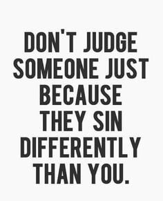 ... and sinning doesn't mean you're a hypocrite ...its means you're human
