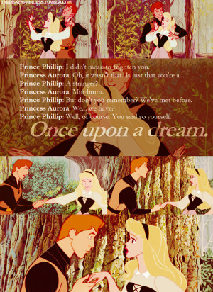 ... 21pm 1902 notes disney aurora sleeping beauty prince phillip quote