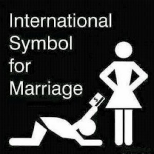 Funny marriage wedding picture