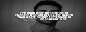 Adam Levine Sayings Quotes Life Love Facebook Covers