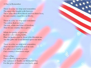 Meaningful Christian Memorial Day Stories Poems