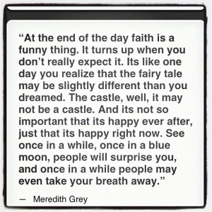 Meredith Grey quote