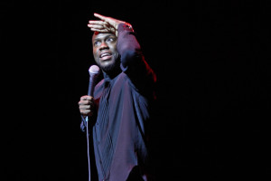 Comedian Kevin Hart debuts new material during sold-out show