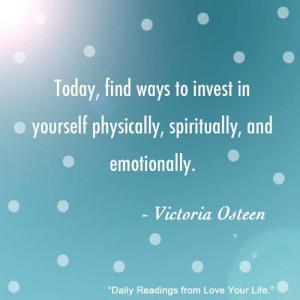 victoria osteen #Invest #joelosteen #Love yourself #agape-inc