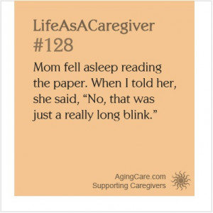 and amusing anecdotes with other caregivers in the caregiver stories ...