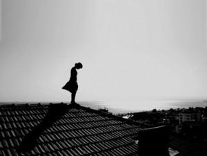 孤独患者 黑白伤感
